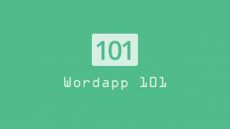 Wordapp 101